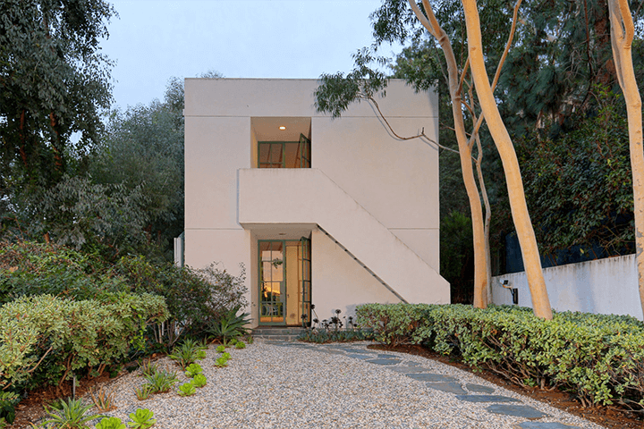 Kalfus Guest House of the Loring House by Richard Neutra