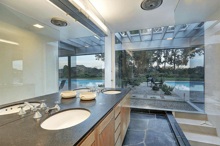 Richard Neutra's Loring House Hollywood Hills CA
