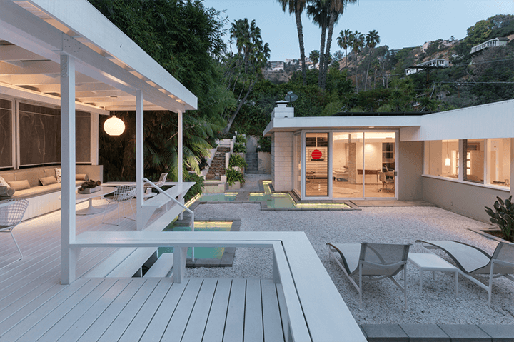 The Krasne Residence by Nisan Yale Matlin For Sale above the Sunset Strip