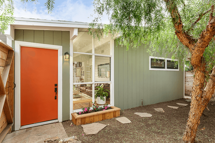 Midcentury modern home for sale in Echo Park