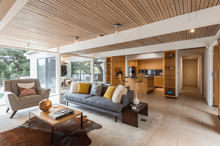 Buff & Hensman Midcentury Home For Sale in Nichols Canyon