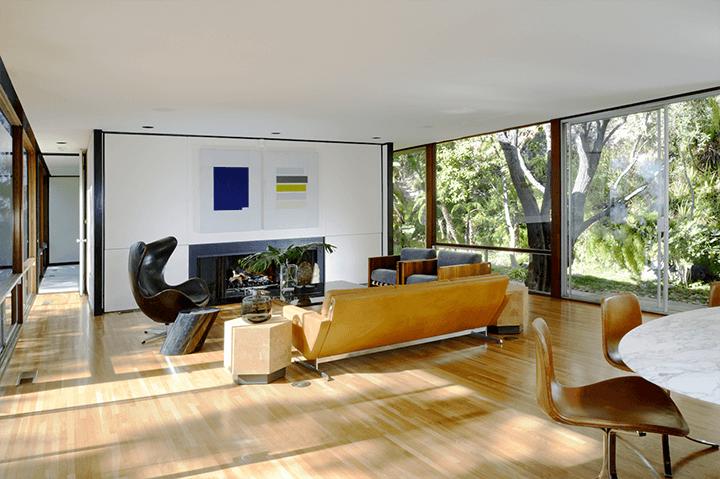 The Moore House by Craig Ellwood Los Feliz CA