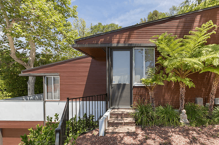Bonnet House by Richard Neutra for sale in the Hollywood Hills