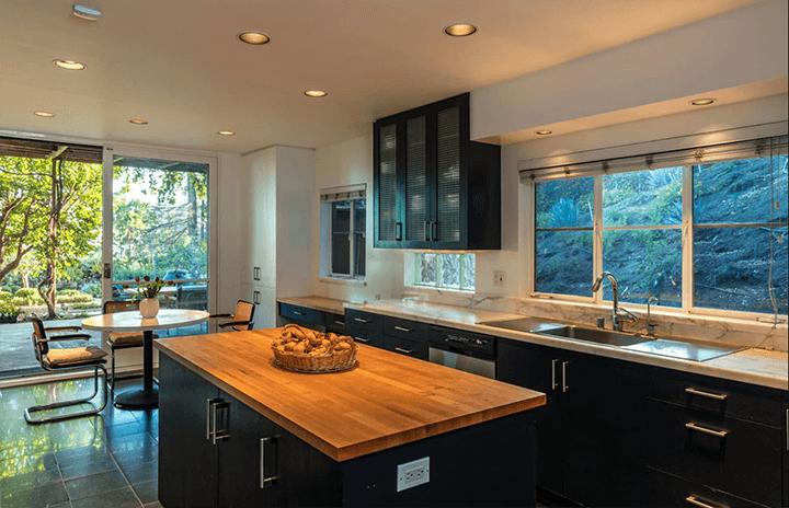 C. Raimond Johnson AIA moderne home for sale Hollywood Hills CA