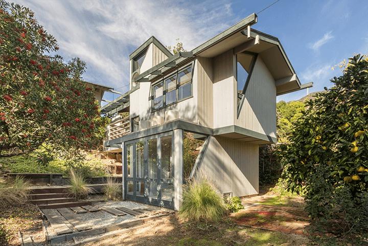 J.J. Mulvihill Residence by Harwell Hamilton Harris and John T. Lyle Design Studio for sale