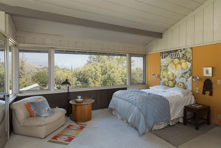 J.J. Mulvihill Residence by Harwell Hamilton Harris for sale in Sierra Madre CA