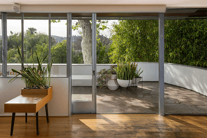 Richard Neutra's Bonnet House in the Hollywood Hills
