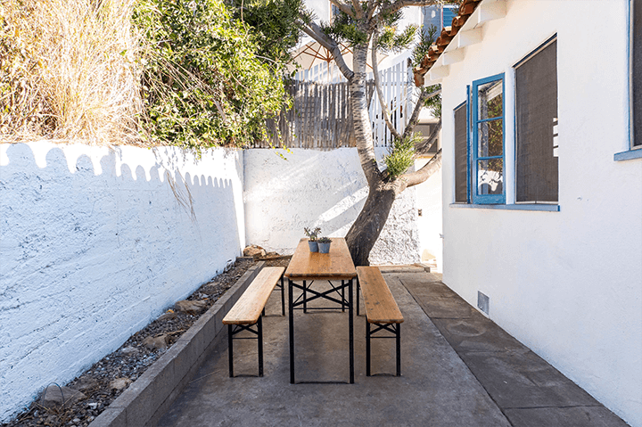 Spanish-style home for sale in Echo Park with patio