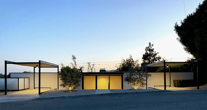 Craig Ellwood's Smith House in Brentwood