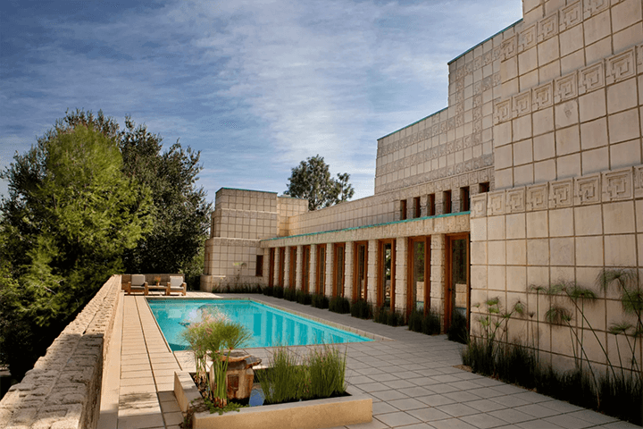 Ennis House by Frank Lloyd Wright for sale in Los Feliz