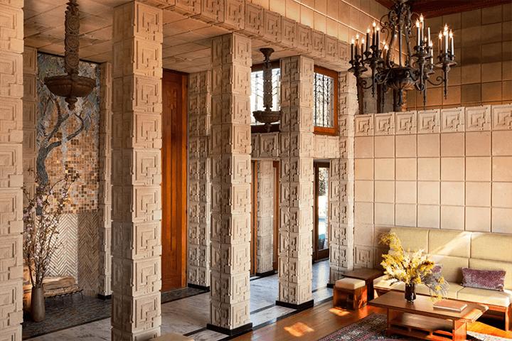 Ennis House by Frank Lloyd Wright for sale in Los Feliz