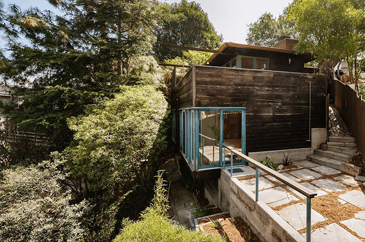 Hawk House by Harwell Hamilton Harris for sale in Silver Lake Los Angeles