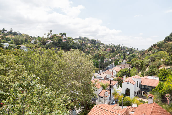 Hollywood Hills view home for sale CA 90068