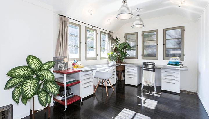 Updated Art Deco home in Los Feliz CA by Frederick Monhoff