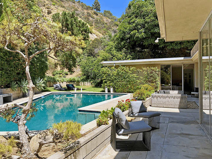 Modernist architecture for sale in Beverly Hills CA by Charles G. Kanner