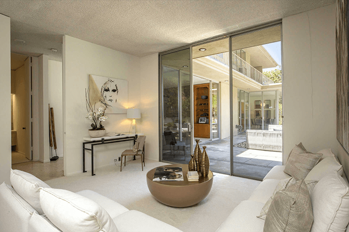 Modernist residence for sale in Beverly Hills CA by architect Charles G. Kanner