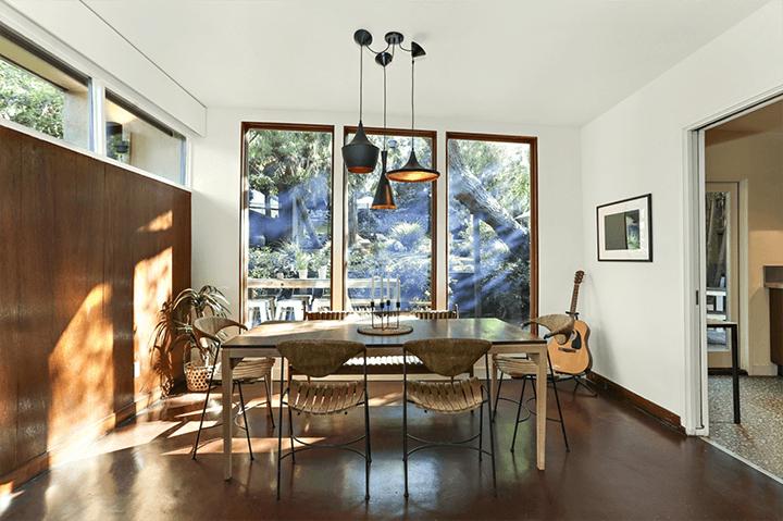 Highland Park midcentury modern home for sale