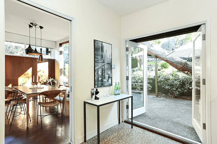 Mid century modern home for sale in Highland Park