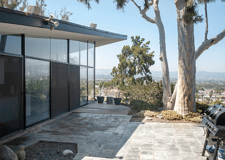 Waymire Residence by Ray Kappe completed in 1958