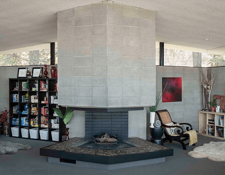 Waymire Residence by Ray Kappe currently on the market