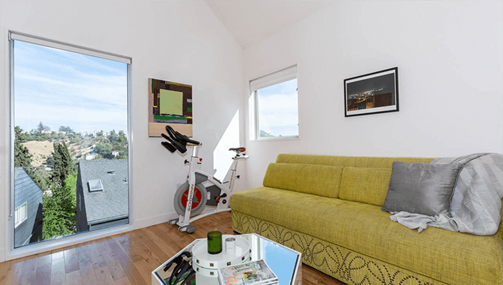 Architectural small lot homes in Echo Park by Barbara Bestor