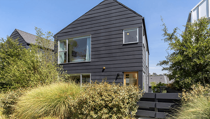 Barbara Bestor designed Blackbirds; a collection of small lot homes in Echo Park