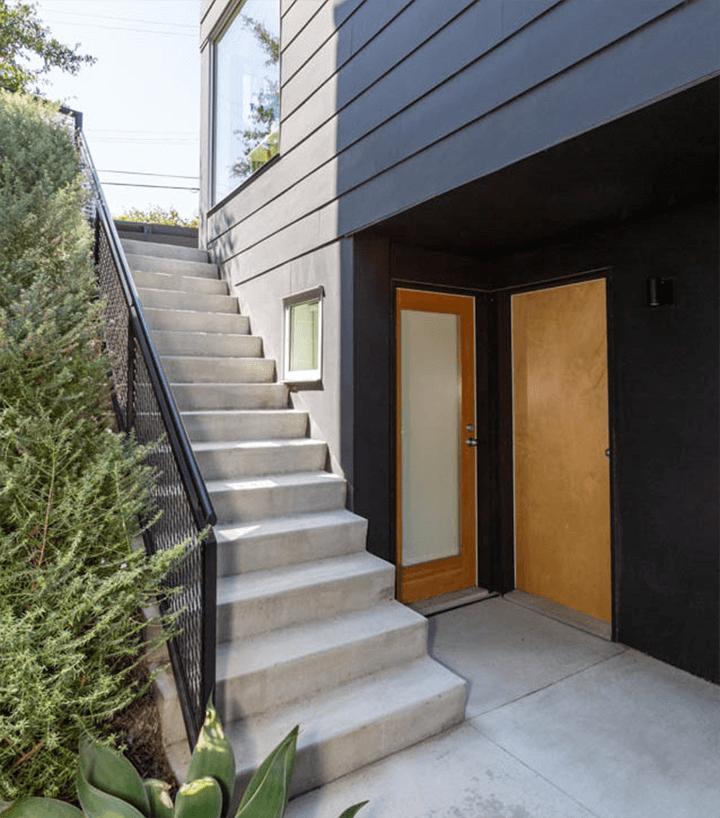 Blackbirds - small lot homes in Echo Park by Barbara Bestor