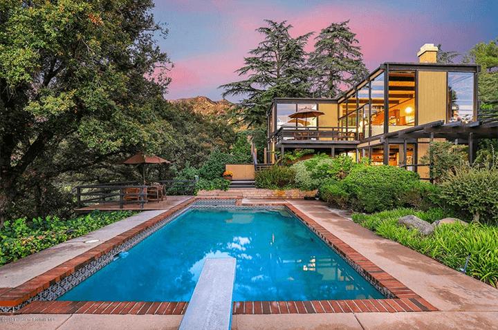 Buff & Hensman mid century modern house for sale in La Canada