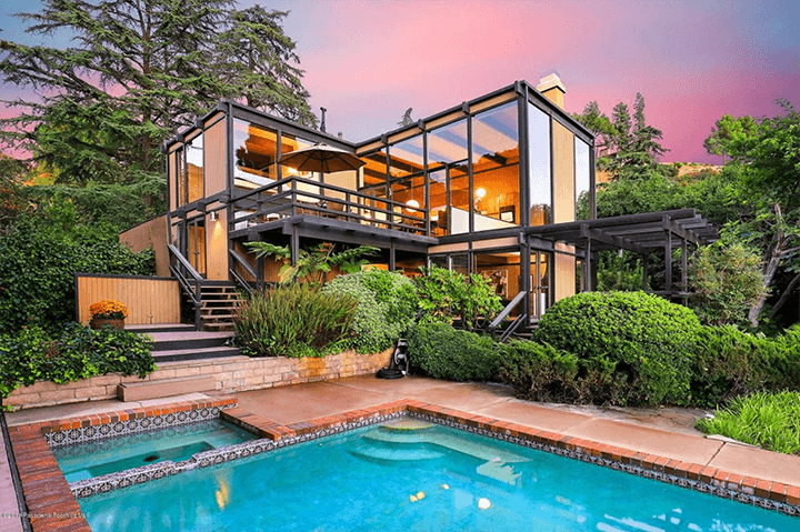 Buff & Hensman midcentury house for sale in La Canada