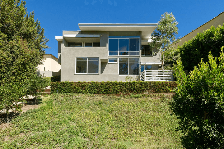 Goodwin House by Rudolph Schindler for sale in Studio City CA
