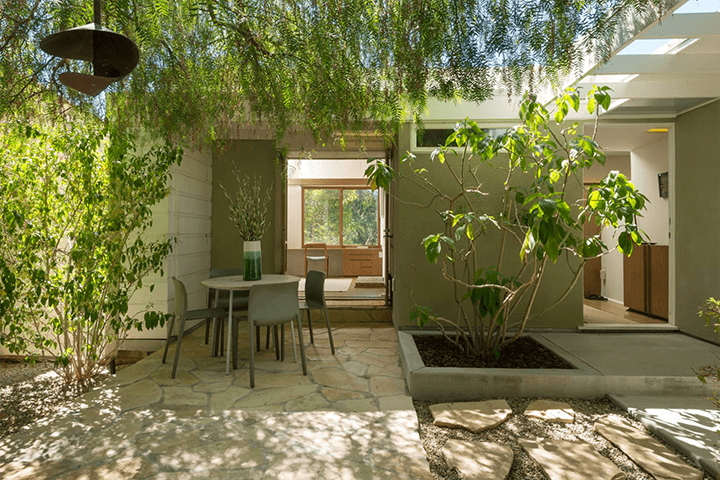 Goodwin House by Rudolph Schindler for sale in Studio City