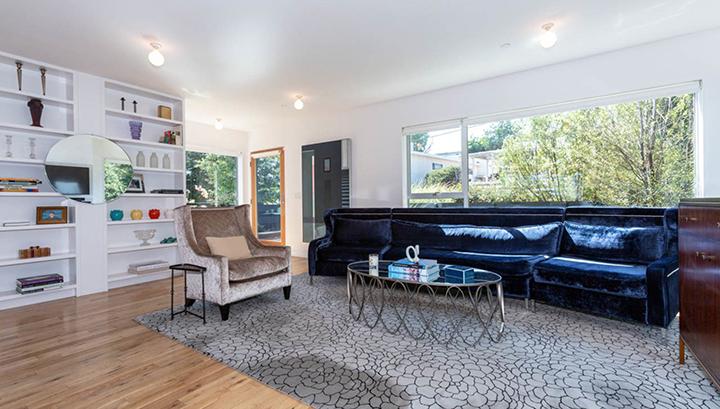 Inside Barbara Bestor-designed small lot homes in Echo Park called Blackbirds