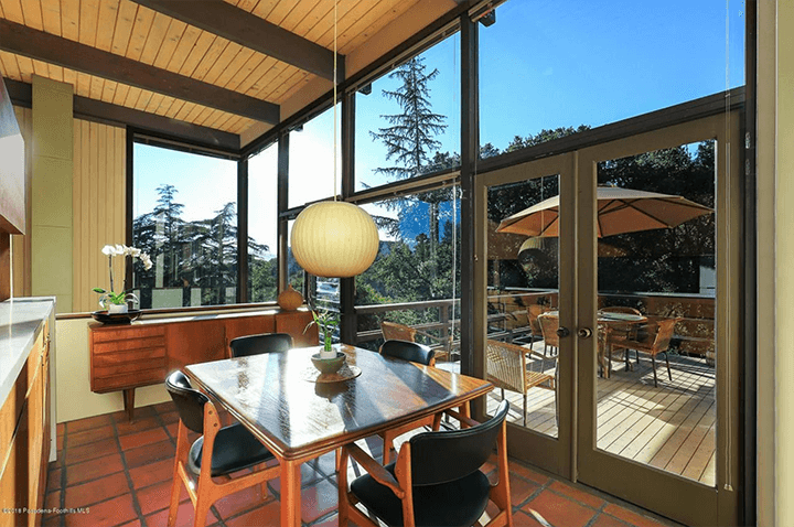 Midcentury modern home by Buff & Hensman for sale in La Canada