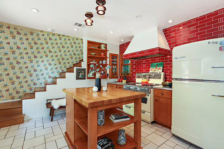 Midcentury modern home for sale in Eagle Rock CA