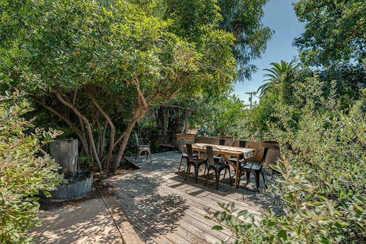 Outside architect Arthur R. Kelly-designed Spanish-style home for sale in Eagle Rock CA