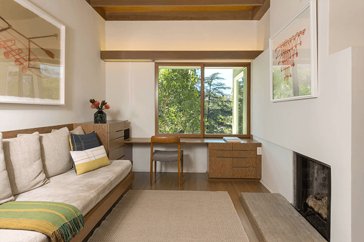 Rudolph Schinder's restored Goodwin House for sale in Studio City