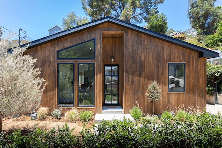 Almost completely rebuilt CA bungalow in Highland Park