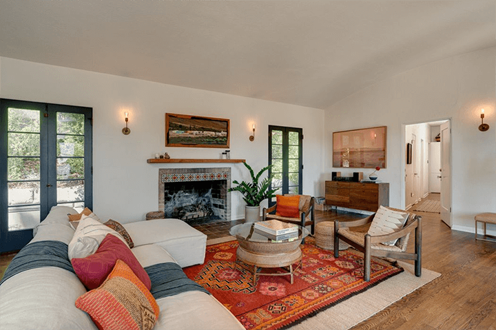 Spanish home for sale in Eagle Rock designed by architect Arthur R. Kelly