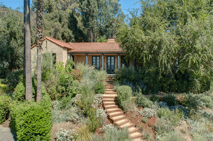 Spanish-style home for sale in Eagle Rock designed by architect Arthur R. Kelly