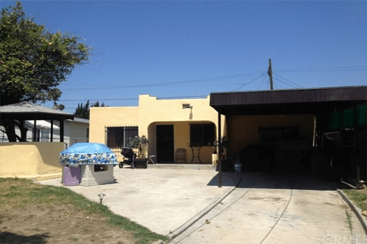 Before photo of remodeled Breland-Harper home for sale in Frogtown