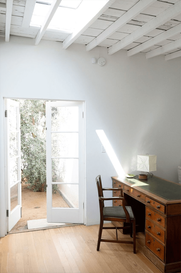 Breland-Harper's remodeled dwelling in Frogtown CA