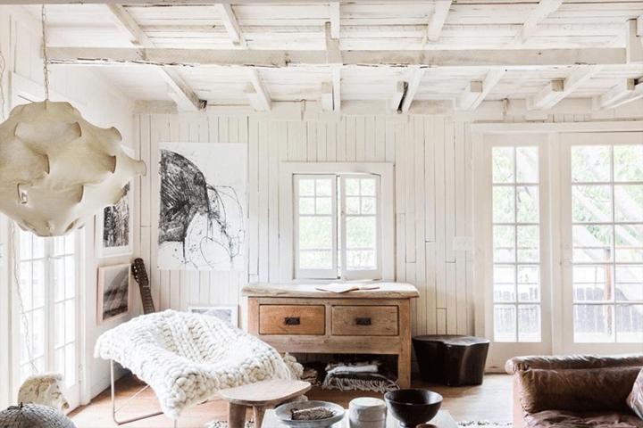Designer Leanne Ford's rustic Echo Park home