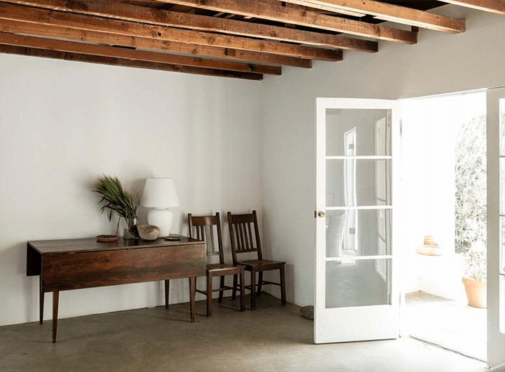Inside Breland-Harper's remodeled residence in Elysian Valley