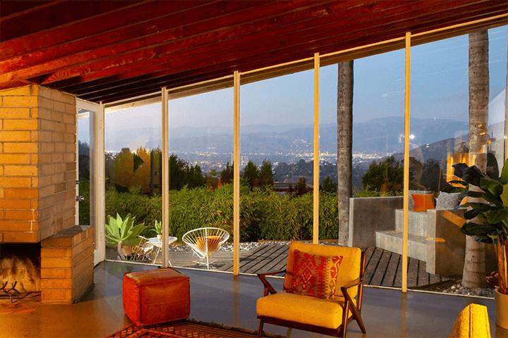 John Lautner's Bergren House in the Hollywood Hills