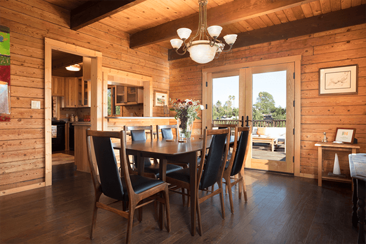 Lodgepole pine house for sale in Echo Park