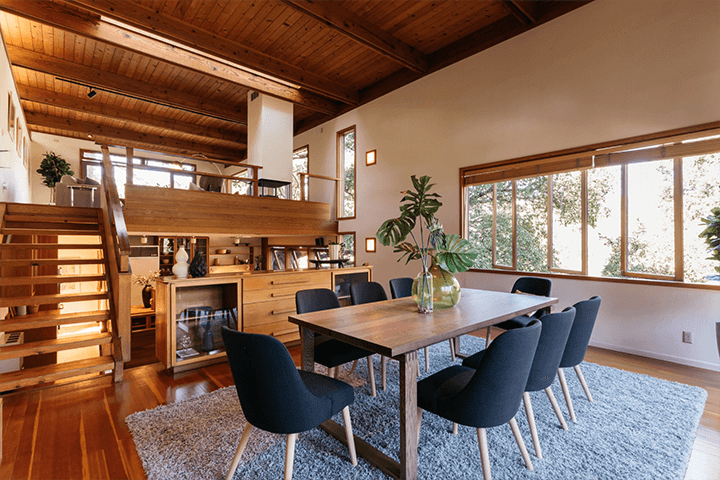 Modern home by Barry Gittelson for sale in Laurel Canyon