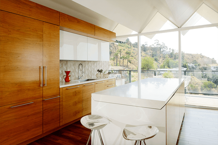 Richard Banta's midcentury modern home for sale in the Hollywood Hills