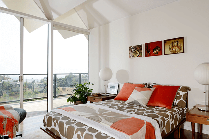Richard Banta's midcentury modern home for sale in the Hollywood Hills CA