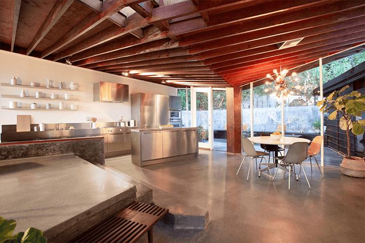 The Bergren House by John Lautner in the Hollywood Hills