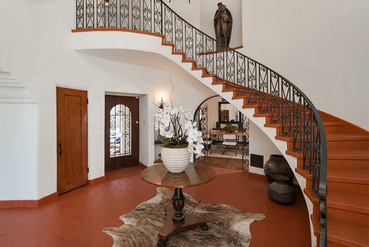 Andalusian-style estate for sale in Los Feliz CA 90027